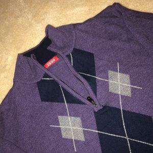 IZOD purple sweater